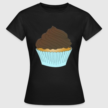 cupcake muffin cake kuchen backen bakery3 - Frauen T-Shirt