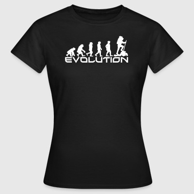 EVOLUTION klatrere - T-skjorte for kvinner