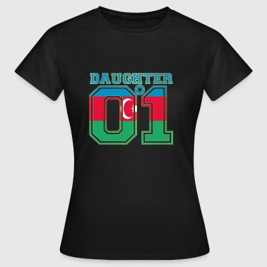 Daughter 01 tochter queen Aserbaidschan - Frauen T-Shirt