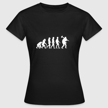Chimney Sweep Evolution gift fireplace sweeper - Women's T-Shirt