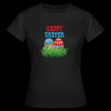 Easter Easter Eggs Easter Bunny Jesus Easter Christian - Women's T-Shirt