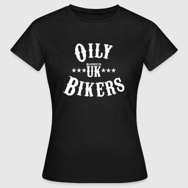 Oily Bikers - Vintage Design - Women's T-Shirt