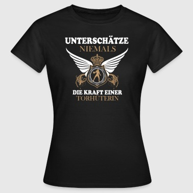 Shop goalkeeper t shirts online spreadshirt for Soccer girl problems t shirts