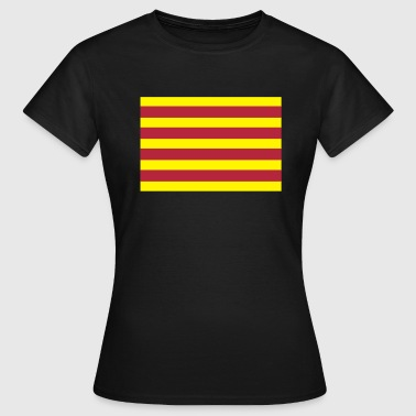 Flag of Catalonia - Women's T-Shirt