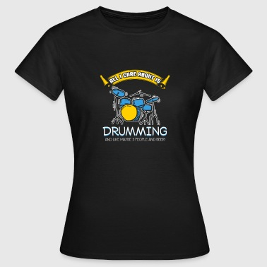 Drumming - Gift - Shirt - Women's T-Shirt