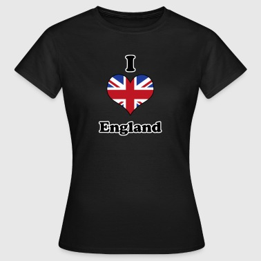 I love England - Women's T-Shirt