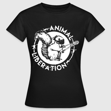 Animal Liberation Squirrel - Women's T-Shirt
