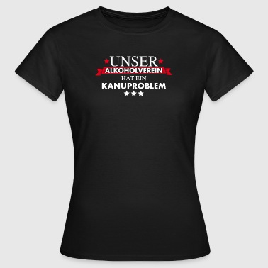 Kanuverein - Kanusport - Frauen T-Shirt