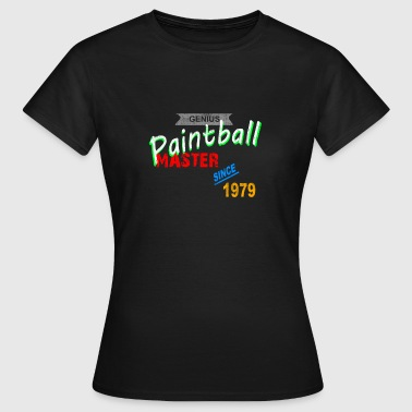 Paintball Master - Dame-T-shirt
