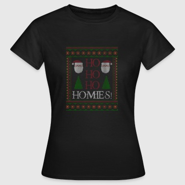 Ho Ho Ho Homies! Gave Dude Bro jul - Dame-T-shirt