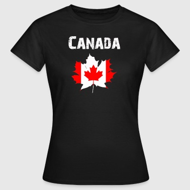 Nation-Design Canada Feuille d'érable RLUNi - T-shirt Femme