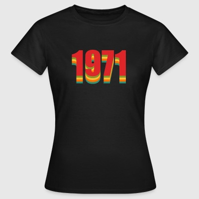 1971 rainbow - Women's T-Shirt
