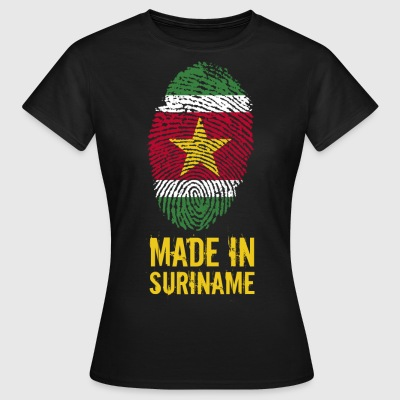 Made In Surinam / Surinam / sranan - Dame-T-shirt