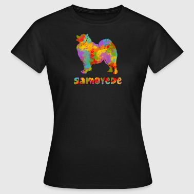 Samojeden Multicolor - Frauen T-Shirt