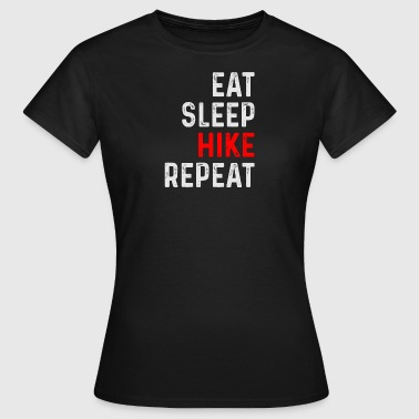 HIKE REPEAT - Vrouwen T-shirt