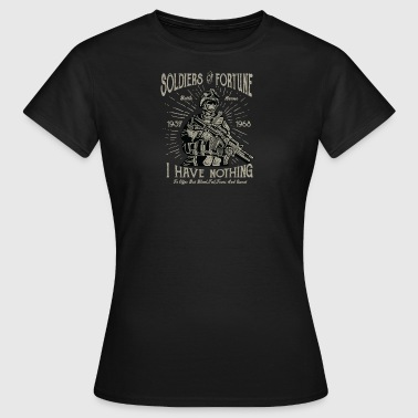 Soldiers of Fortune2 - Dame-T-shirt