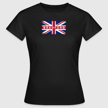 Bradford Shirt Vintage United Kingdom Flag T-Shirt - Women's T-Shirt