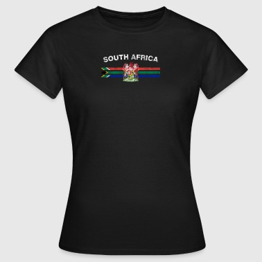 South African Flag Camicia - South African Badge & - Maglietta da donna