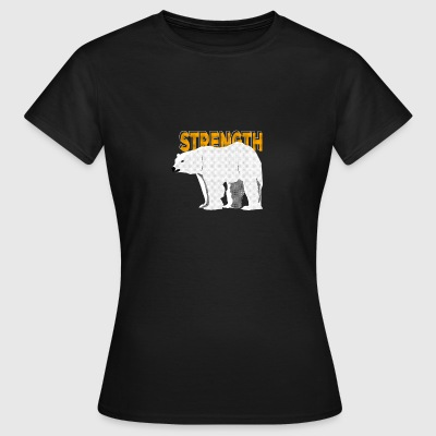 Ours polaire - Animal Spirit - T-shirt Femme