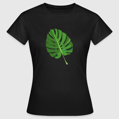 tropical leaves - Women's T-Shirt