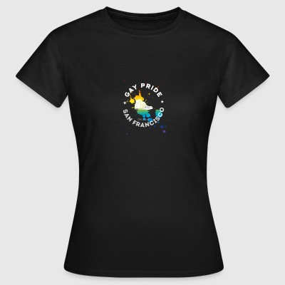 Gay Unity Respect Pride happy rainbow sneaker l - Women's T-Shirt