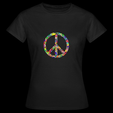 Peace sign - Women's T-Shirt