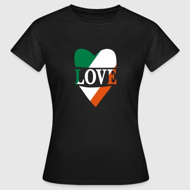 Love Ireland - T-skjorte for kvinner