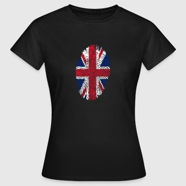 Fingerprint - UK - Frauen T-Shirt
