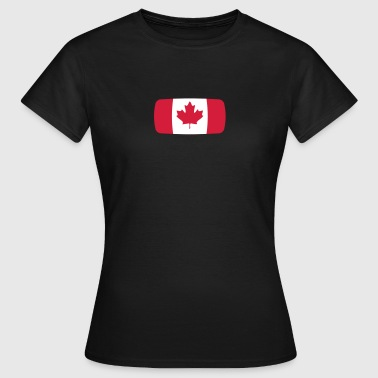 Canada Flag Canada Flag Canada Canadian French  - Women's T-Shirt