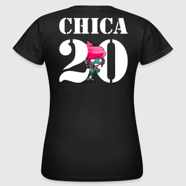CHICA 20 | Partnershirt - Frauen T-Shirt