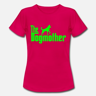 Dog Pound The Dogmother Dog Walkers Design - Women's T-Shirt