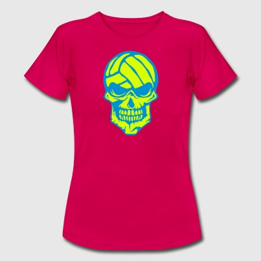 volleyball tete de mort waterpolo  logo - T-shirt Femme