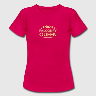 falconry  queen stars - Women's T-Shirt