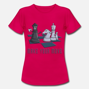 Schach chess_make_your move_11_2016 - Frauen T-Shirt