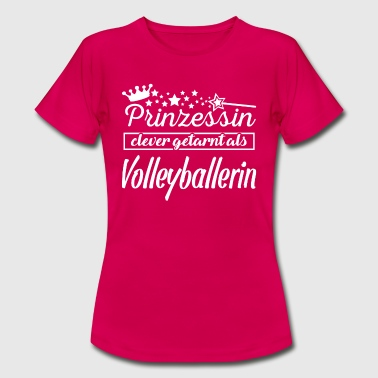 prinzessin volleyballerin - Frauen T-Shirt