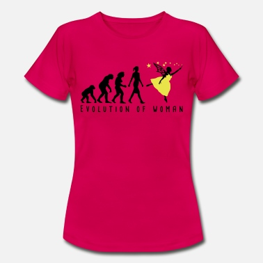 Evolution of woman Elf-02 - Frauen T-Shirt