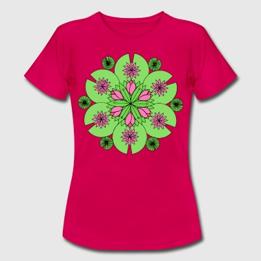 Pond Lotus Mandala - Women's T-Shirt