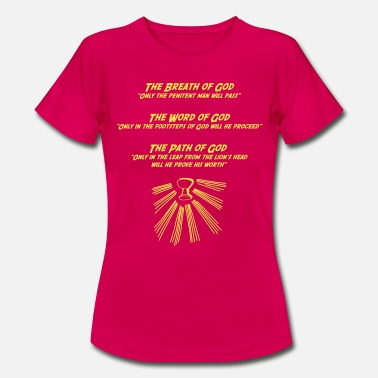 Indiana Jones Indiana Jones Saint Graal - T-shirt Femme