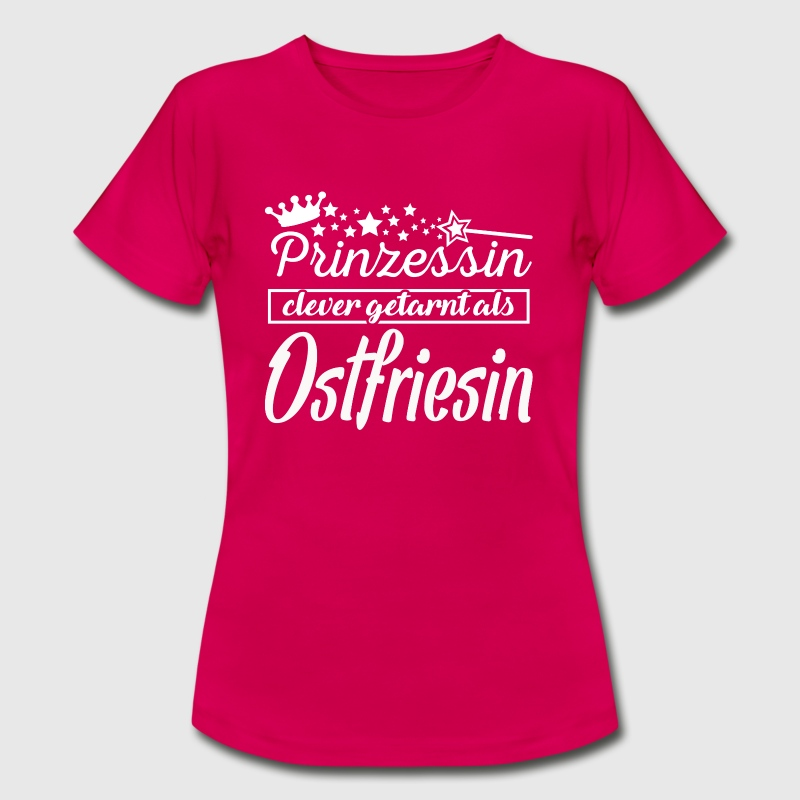 Ostfriesin - Frauen T-Shirt