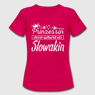 Slowakin - Frauen T-Shirt