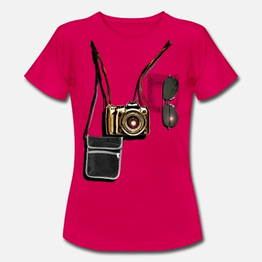 Professional tourist - Dame-T-shirt