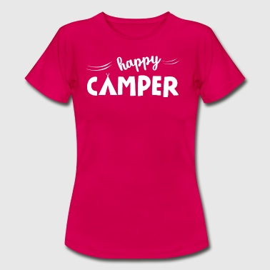 Happy Camper Happy Camper - Women's T-Shirt