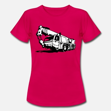 Mobile Crane Autokran, crane (2 color) - Women's T-Shirt