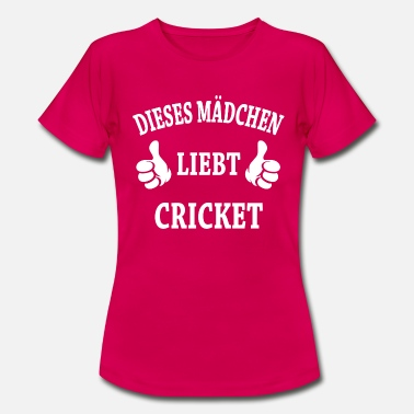 Cricket Cricket - Frauen T-Shirt