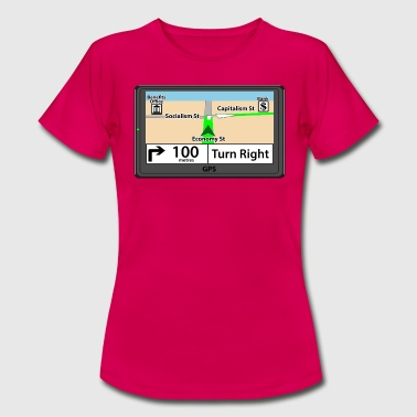 GPS - Right - Women's T-Shirt