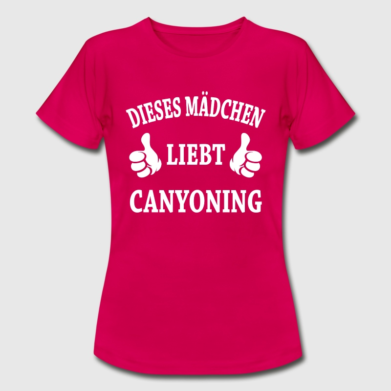 Canyoning - Frauen T-Shirt