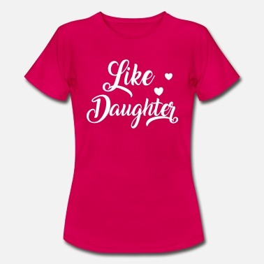 Fandom T-shirts Matching Daughter T-shirt - Koszulka damska