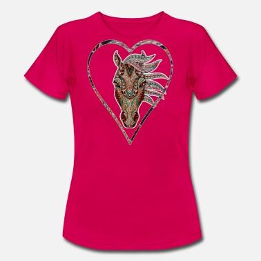 Caballo Pedir en línea Camisetas Spreadshirt q66Agw
