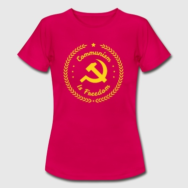 Kommunism Liberty Badge - T-shirt dam