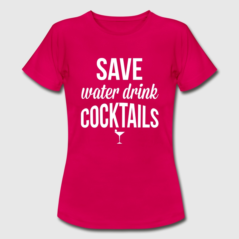 Cocktails - Camiseta mujer